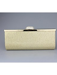 Mushroom With Diamond Metal Handbag Evening Handbags/Clutches/Mini-Bags/Totes With Chain