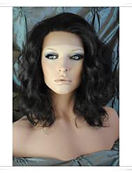 8inch-22inch 100% perruques de cheveux remy indiens de vague de corps lwbw005