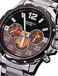 Men's fashion waterproof steel fashion watch