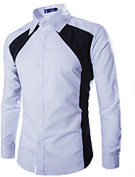 Modi Men's Long Sleeve Casual Shirts (Cotton)