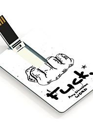 16GB baiser toute carte de conception lecteur flash USB de situation de travail