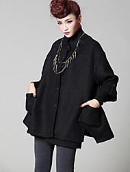 Women's With Thick Coat Sleeve in The Cloth
