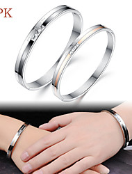 OPK®Ms Fashion High Quality Titanium Bracelet Couples Exquisite Gift