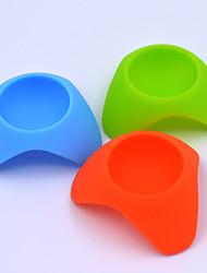 gadgets de cuisine nouveauté conteneurs d'œufs / étagères de placement d'oeuf (couleur aléatoire)