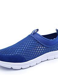 Men's Spring / Summer / Fall Round Toe Nylon Slip-on Black / Blue / Brown / Gray / Navy Running