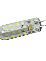 G4 2W 32 LED Bulb 180LM 2800-6500K 3014 SMD Silicone Crystal Lamp Corn Light Home Lighting AC 220V