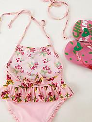 Girl's  Cherry Swimwear