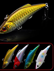 Trulinoya Fishing Sinking VIB Lure 74mm/13g Hard Bait Fishing Lure (Color Random)