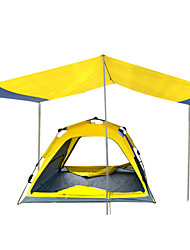 Tripolar Outdoor tent 4-5 XXL automatic tent,Two people camping tents,YYellow tent ,FA2115X