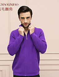 Few and far between Men's pure cashmere sweater 100% cashmere sweater knit