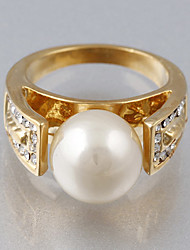 Vintage/Party/Casual Alloy/Cubic Zirconia/Imitation Pearl Promise Ring