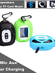 Solar Charging Outdoor Portable Mini V3.0 Bluetooth Speaker With TF Mic for iPhone Samsung and Other Cellphone