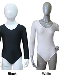 Shiny Nylon/Lycra Long Sleeve Leotard More Colors  for Girls and Ladies