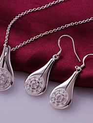 Zilver Dames Sieraden set