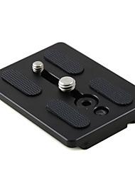 mengs® 717 piastra a sgancio rapido con 1/4 di pollice&Vite di fissaggio da 3/8 di pollice per la videocamera dslr