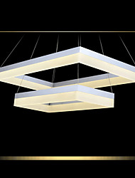 LED Ceiling Pendant Light Lighting Modern Acrylic Lamps Luxurious Two Rings Lights Fixtures