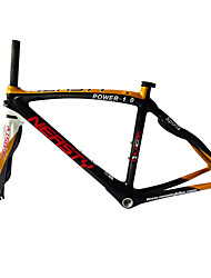 Neasty Brand 700C Full Carbon Fiber Frame and Fork 3K Gold Color Decal Carbon Black 48/50/52/56CM