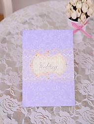 Convites de casamento Cartões Pré-Convite Dupla Dobra-Portão Não personalizado