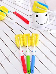 Multi-Functional Corner Sponge Cup Brush(Random Color)