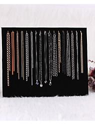 17 Haken Halskette Halter Schmuck-Display Schmuck Aufbewahrungsbox