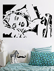 stickers muraux stickers muraux, marilyn monroe muraux PVC autocollants