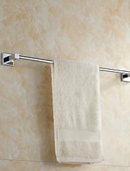 Chrome Finish Brass Material Single Towel Bar