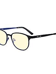 [Free Lenses] Stainless steel Wayfarer Full-Rim Fashion Prescription Eyeglasses