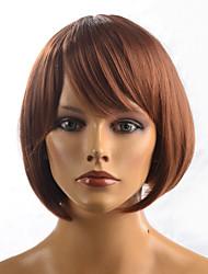 kanekalon diária peruca sintética curta senhora sem tampa
