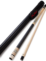 1/2 Jointed Maple Wood Billiard/Pool Cue Fury  Pool Cue Stick 12.75mm+DL12