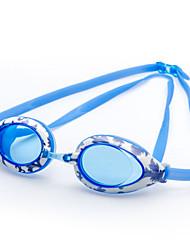 winmax® quadro silicone óculos de natação ajustáveis júnior claro / escuro azul 100% anti uv azul e anti nevoeiro