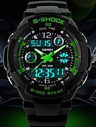 мужская мода альпинизм многофункциональный гидроизоляция марки аварии колодок наручные часы (разных цветов)