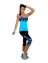 HOT Control  Side Priting Super Stretch Fitness Slimming Pants Body Shapers
