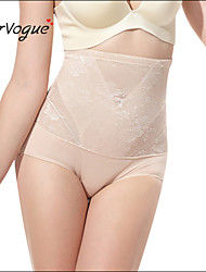 Burvogue Women's Sexy Slimming High Waist Butt Lift Body Control Shaper Panties