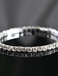 Women's Persona Beads Collection Bracelet Cubic Zirconia Rhinestone