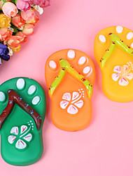 Dogs Toys Chew Toy / Squeaking Toy Shoes Rubber / Silicone
