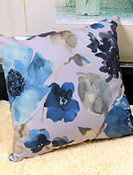 Chinese Style Cushion Cover Reactive Printing for The Front and Back Sides 45x45cm
