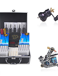 complete set tattoo machine kit met twee geweren en lcd voeding