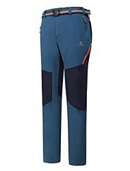 Pantalones ( Gris claro/Azul oscuro ) -Impermeable/Transpirable/Resistente a los UV/Cremallera impermeable/A prueba de polvo/A prueba de