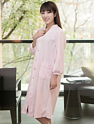 Yuxin® Ms. Combed Grade Cotton Nightgown One Size