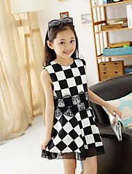 Kid's Casual Dresses (Cotton)