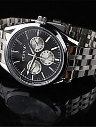 Jinshi 2015 neuer Männer hohe Qualität japanische Quarz-Uhrwerk wasserdichte Uhr