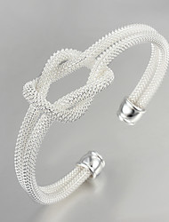 grande festa de promoção / trabalho / prata banhado ocasional bracelete de design clássico