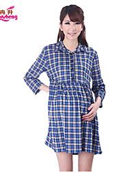 RanSheng® Maternity's High Collar Coated Joker Render Unlined Upper Garment