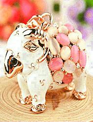 Sheep Rhinestone Wedding Keychain Favor