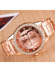 Women's Watches Trends in Europe And America Major Suit Alloy Diamond Quartz Watch