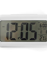 Multifunction LED Luminous Calendar Thermometer Alarm Clock(Assorted Colors)