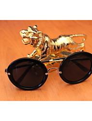 Sunglasses Unisex's Classic / Modern / Fashion Round Black Sunglasses Full-Rim