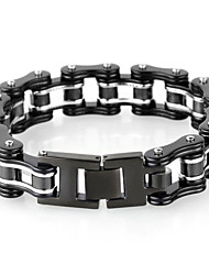 Kalen Men's Jewelry Stainless Steel Bicycle Chain Inspiring Bracelet