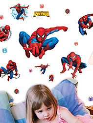 stickers muraux stickers muraux, collecte spiderman muraux PVC autocollants