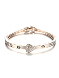 Sjewelry Girls Delicacy Rose Gold Plating Bracelet